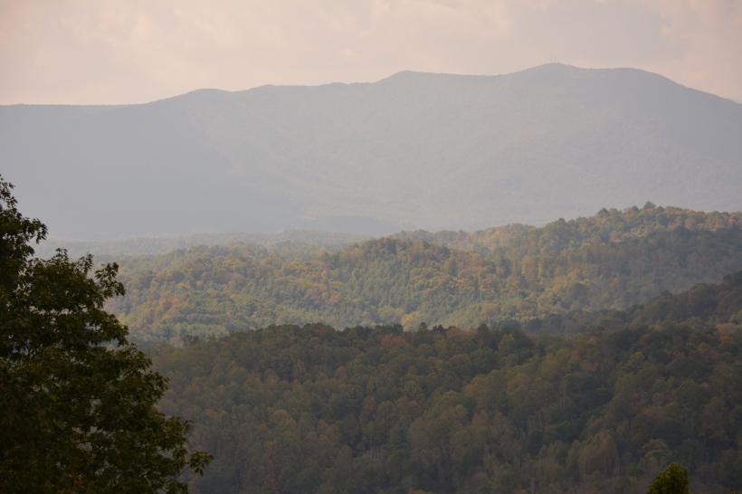 Layered long range view