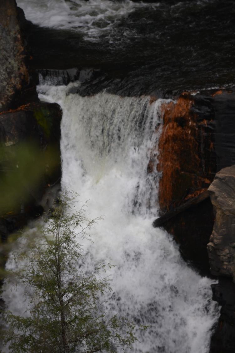 Pristine waterfall