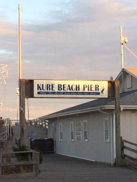 Kure fishing pier