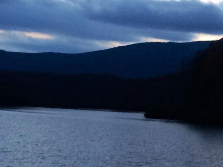 Price Lake, on the Blue Ridge Parkway