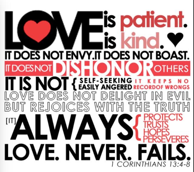 ! Corinthians 13
