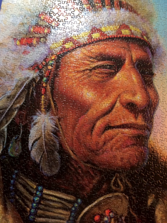 Indian Chief Puzzle