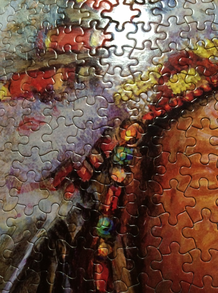 Puzzle, Indian Face
