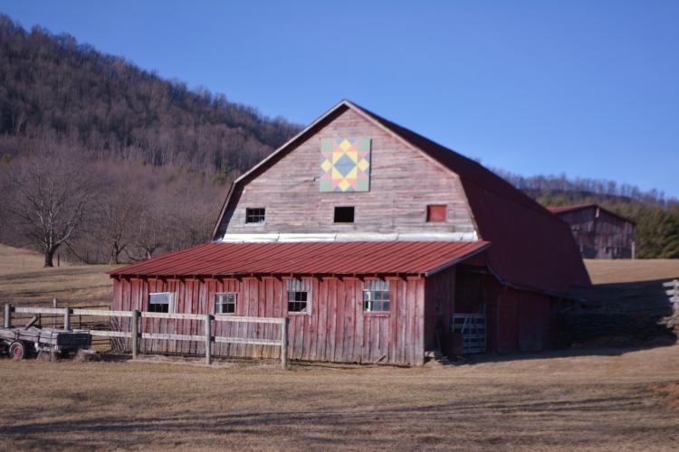 Old barn Ashe County, N.C.
