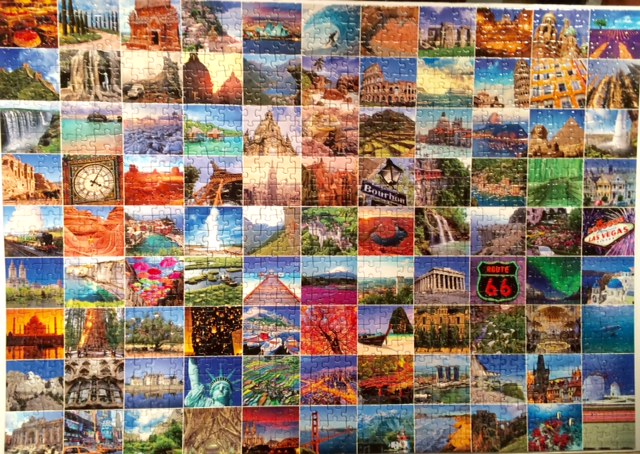 99 Places In The World To See, 1000 Piece Puzzle