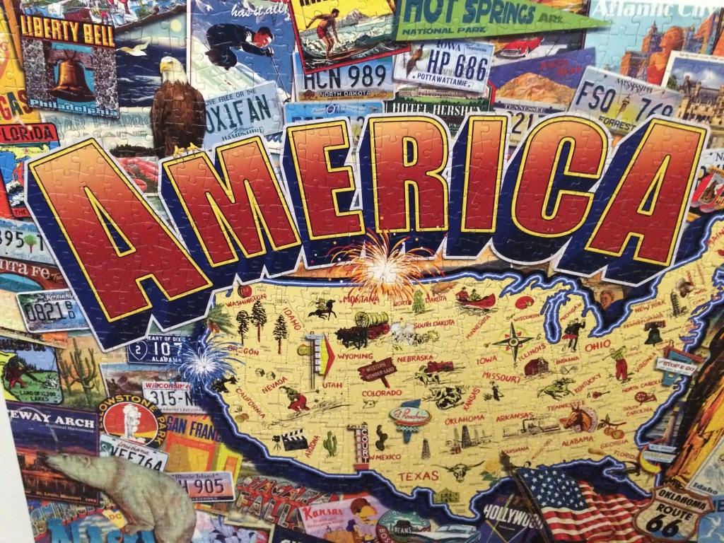 America, 1000 Piece Puzzle