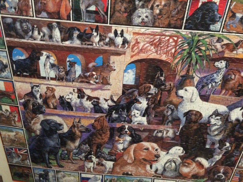 Dogs, 1000 Piece Puzzle