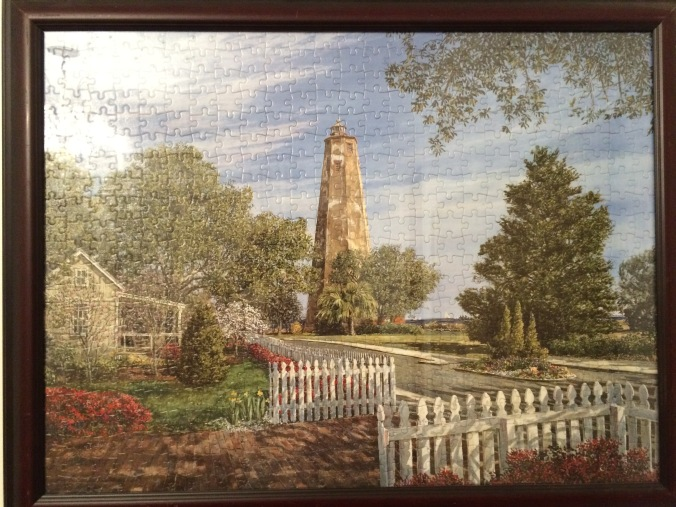 Old Baldy Lighthouse 1000 Piece Puzzle