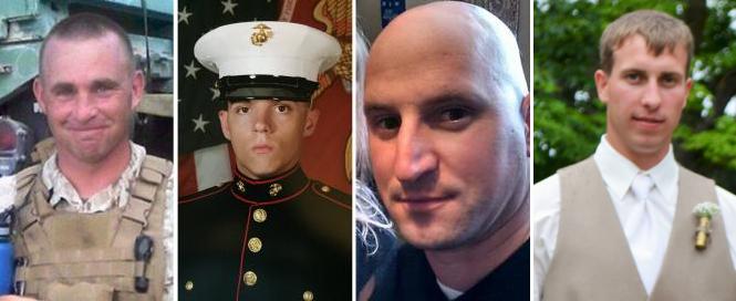 To honor 4 Americans 4 Heros