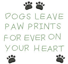 Dog Paws Quote