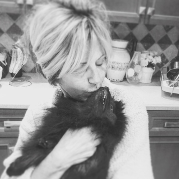 Donna George Blog, Black Pomeranian