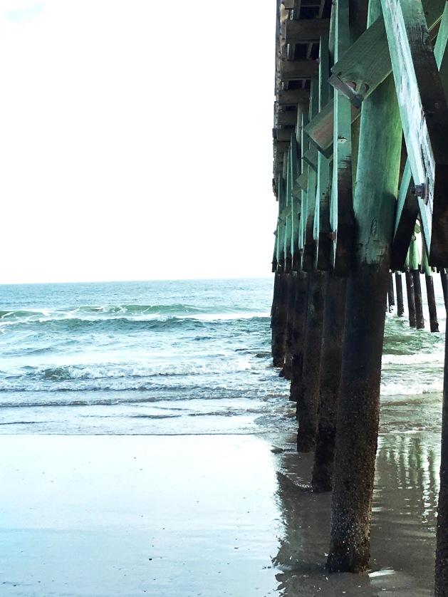 Beach, Ocean, NC beach pier,