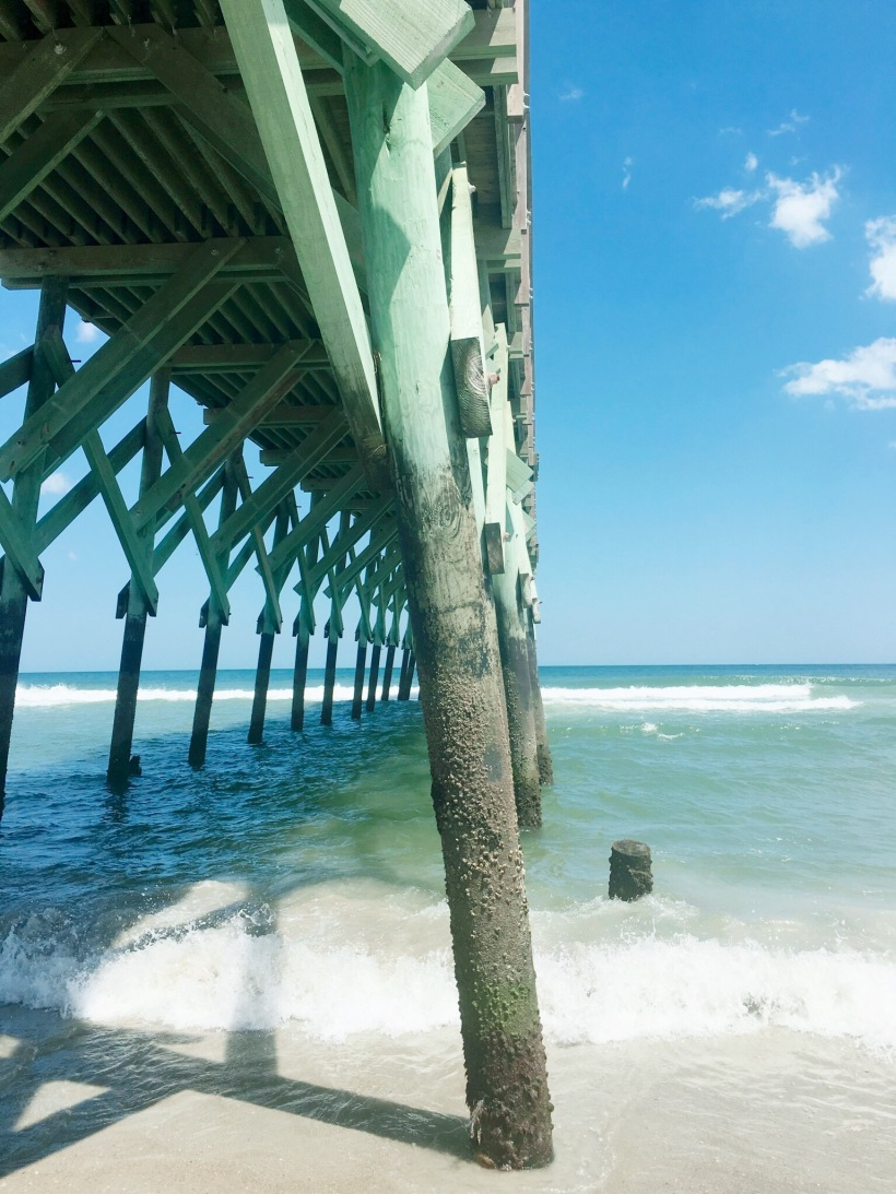 wrightsville beach side angle Crystal Pier