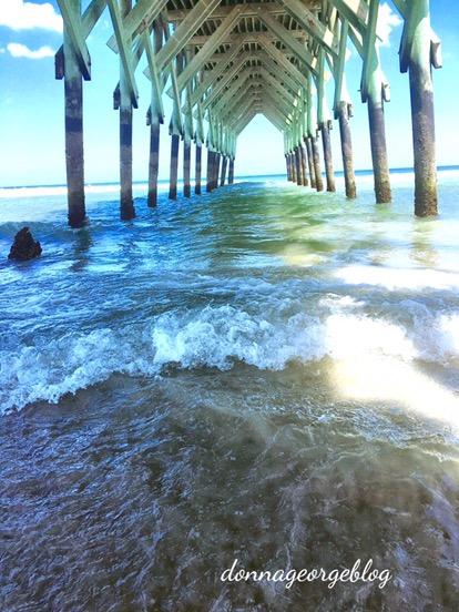 Under wrightsville beach Crystal Pier N